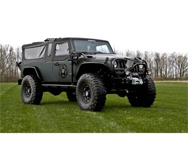 2011 Jeep Wrangler (CC-1293572) for sale in Adrian, Michigan