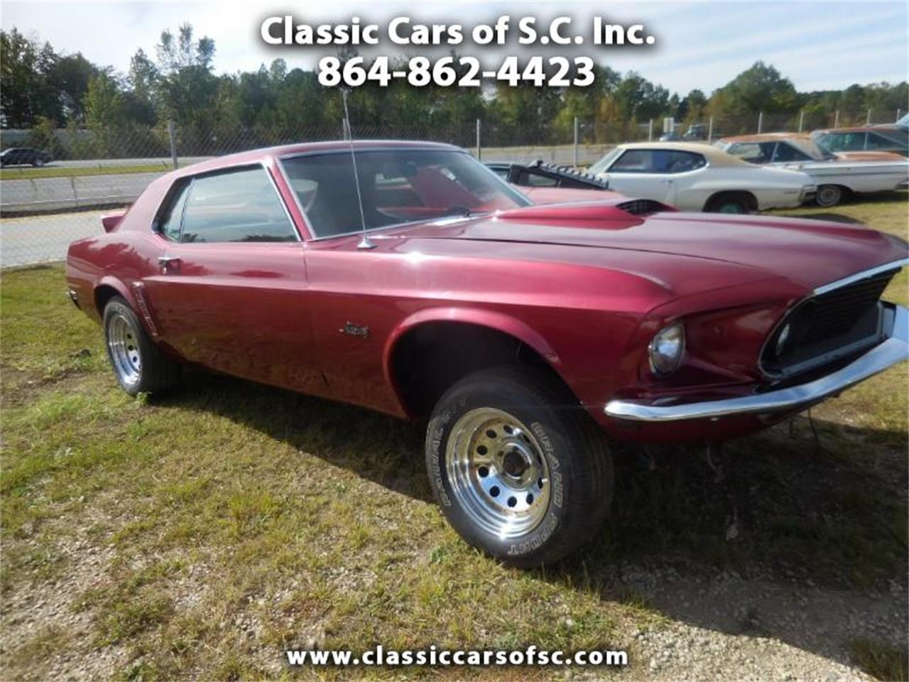 1969 Ford Mustang (CC-1293632) for sale in Gray Court, South Carolina