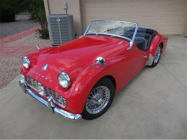 1960 Triumph TR3 (CC-1293769) for sale in Cadillac, Michigan