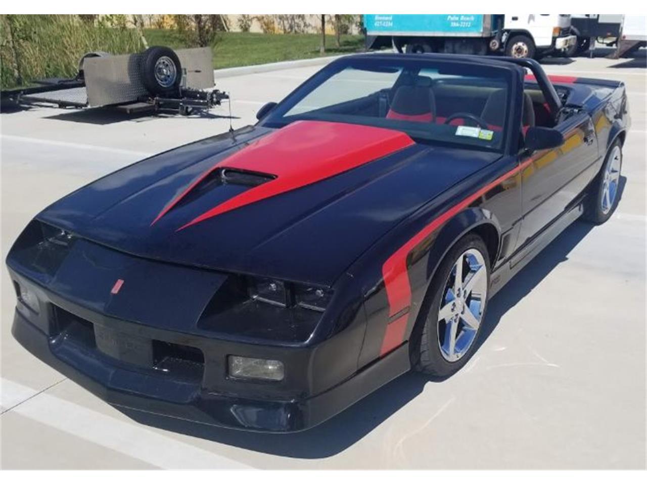 1989 Chevrolet Camaro (CC-1293793) for sale in Cadillac, Michigan