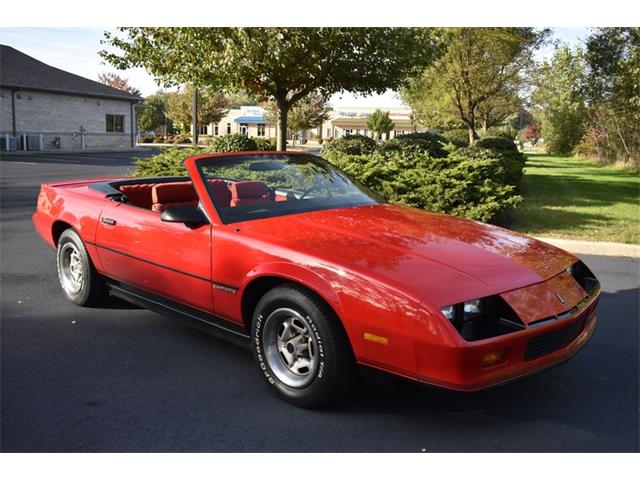 1987 Chevrolet Camaro (CC-1293812) for sale in Elkhart, Indiana