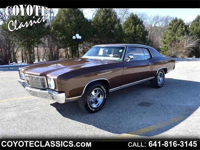 1970 Chevrolet Monte Carlo (CC-1293817) for sale in Greene, Iowa