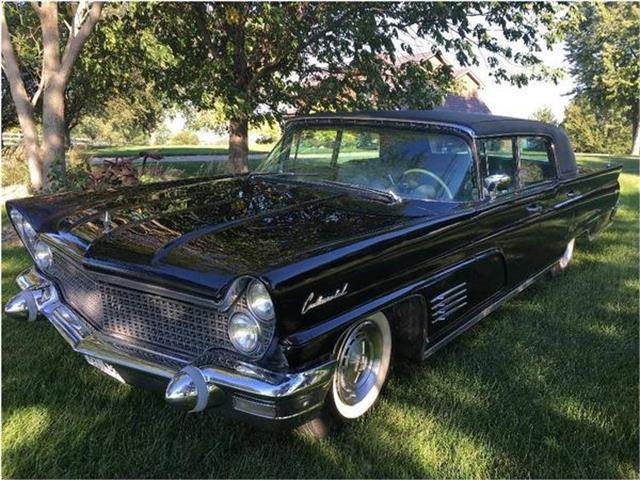 1960 Lincoln Continental Mark V (CC-1293848) for sale in New Ulm, Minnesota
