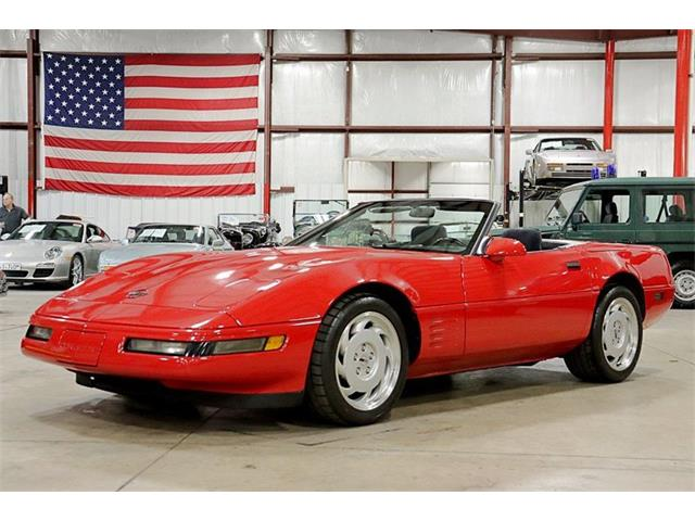 1991 Chevrolet Corvette (CC-1293918) for sale in Kentwood, Michigan