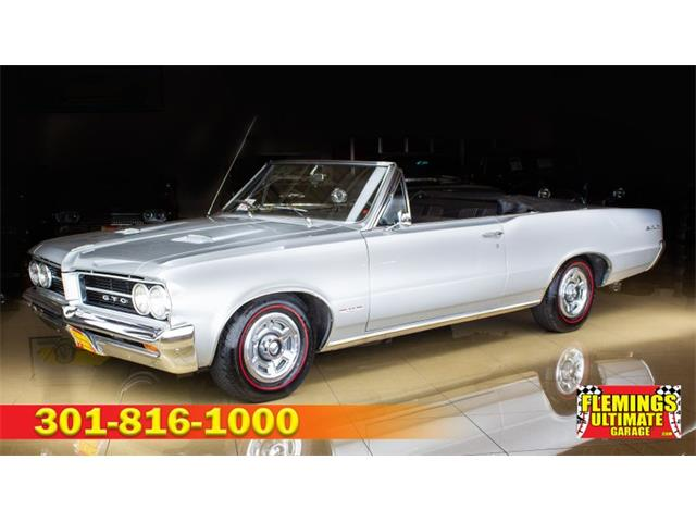 1964 Pontiac GTO (CC-1294112) for sale in Rockville, Maryland