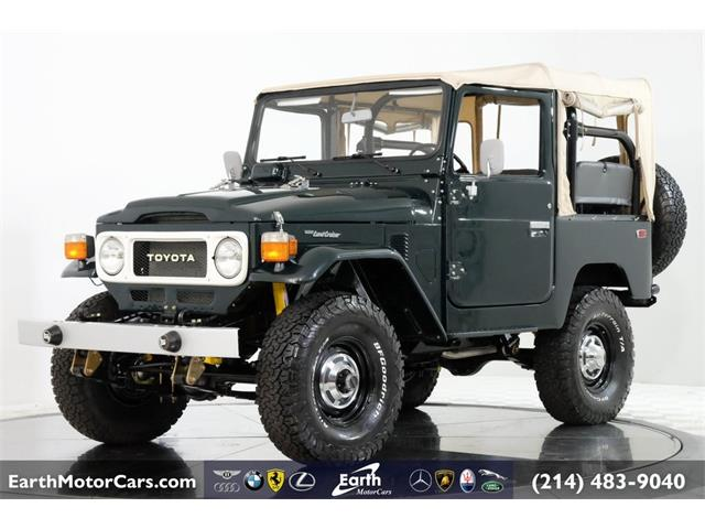 1981 Toyota Land Cruiser FJ (CC-1294136) for sale in Carrollton, Texas