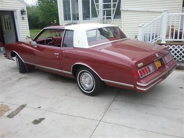 1978 Chevrolet Monte Carlo (CC-1294255) for sale in Cadillac, Michigan