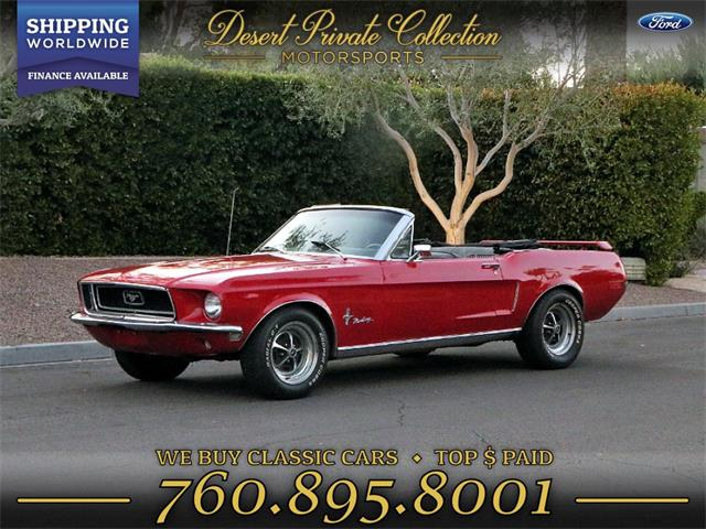 1968 Ford Mustang (CC-1294373) for sale in Palm Desert , California