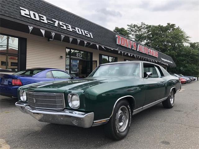 1970 Chevrolet Monte Carlo (CC-1294482) for sale in Waterbury, Connecticut