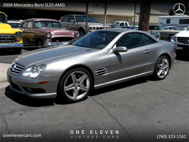 2004 Mercedes-Benz SL55 (CC-1294558) for sale in Palm Springs, California