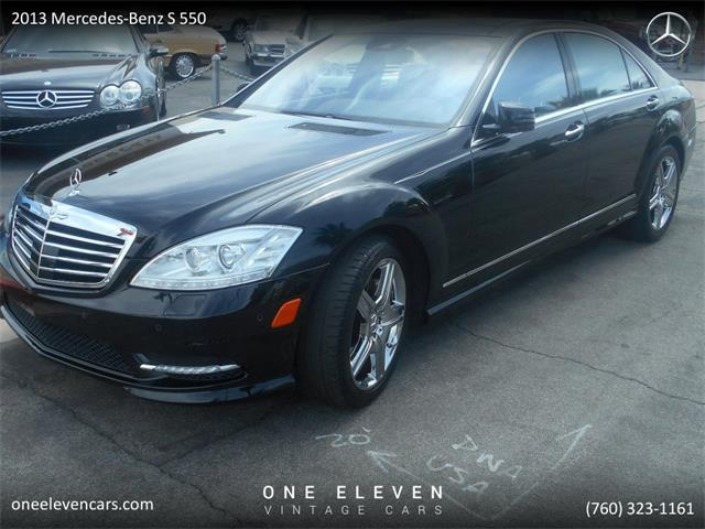 2013 Mercedes-Benz S550 (CC-1294567) for sale in Palm Springs, California