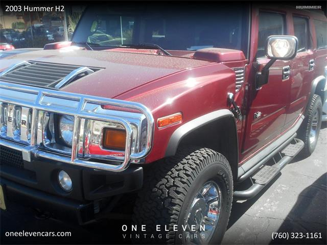 2003 Hummer H2 (CC-1294568) for sale in Palm Springs, California