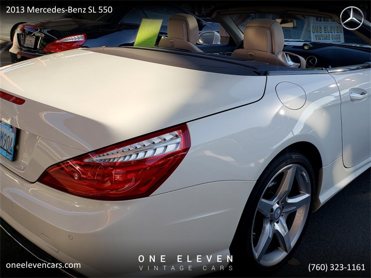 2013 Mercedes-Benz SL550 (CC-1294604) for sale in Palm Springs, California