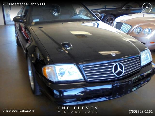 2001 Mercedes-Benz SL600 (CC-1294622) for sale in Palm Springs, California