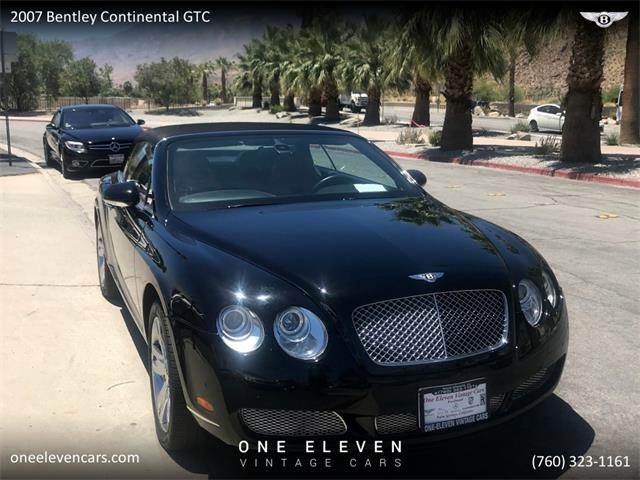 2007 Bentley Continental GTC (CC-1294623) for sale in Palm Springs, California