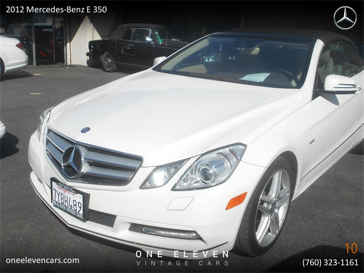 2012 Mercedes-Benz E-Class (CC-1294633) for sale in Palm Springs, California