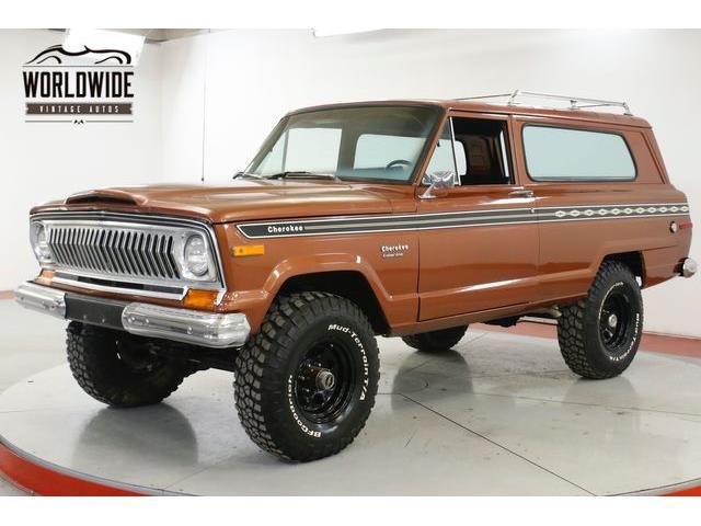 1974 Jeep Cherokee (CC-1294680) for sale in Denver , Colorado