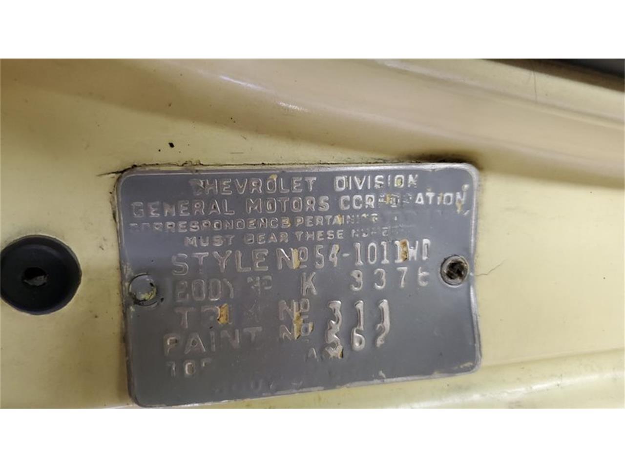 1954 Chevrolet Bel Air (CC-1294946) for sale in Mankato, Minnesota
