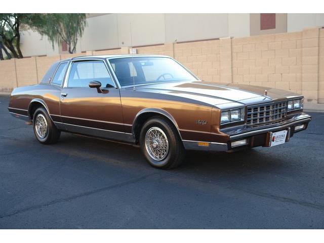 1983 Chevrolet Monte Carlo