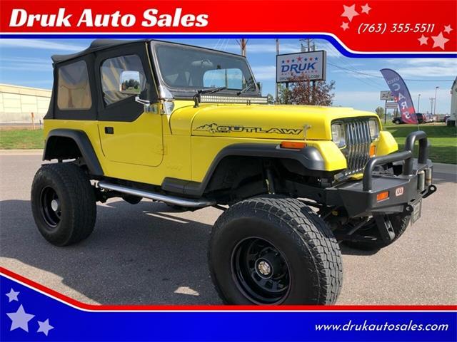 1989 Jeep Wrangler (CC-1295143) for sale in Ramsey, Minnesota