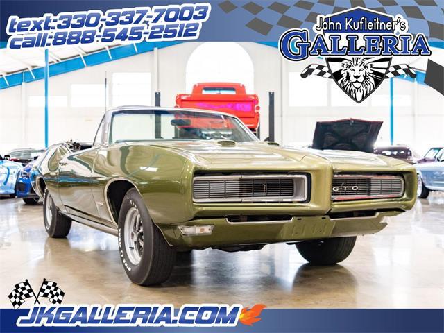 1968 Pontiac GTO (CC-1295366) for sale in Salem, Ohio