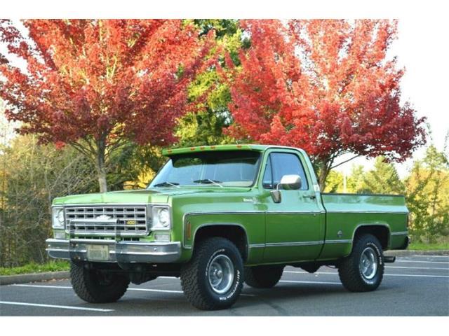 1976 Chevrolet Silverado (CC-1295391) for sale in Cadillac, Michigan
