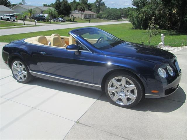 2008 Bentley Continental GTC Mulliner (CC-1295680) for sale in Punta Gorda, Florida