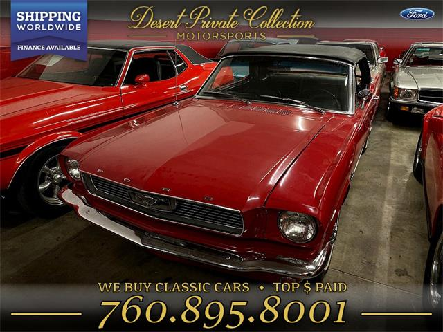 1966 Ford Mustang (CC-1295787) for sale in Palm Desert , California