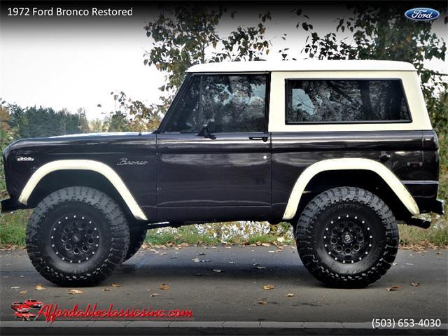 1972 Ford Bronco (CC-1295788) for sale in Gladstone, Oregon