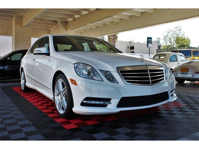 2013 Mercedes-Benz E-Class (CC-1295818) for sale in Sherman Oaks, California