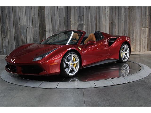 2017 Ferrari 488 Spider (CC-1295834) for sale in Bettendorf, Iowa
