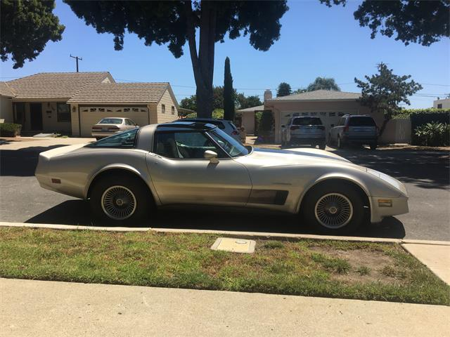 1982 Chevrolet Corvette (CC-1295904) for sale in Ventura , Ca.