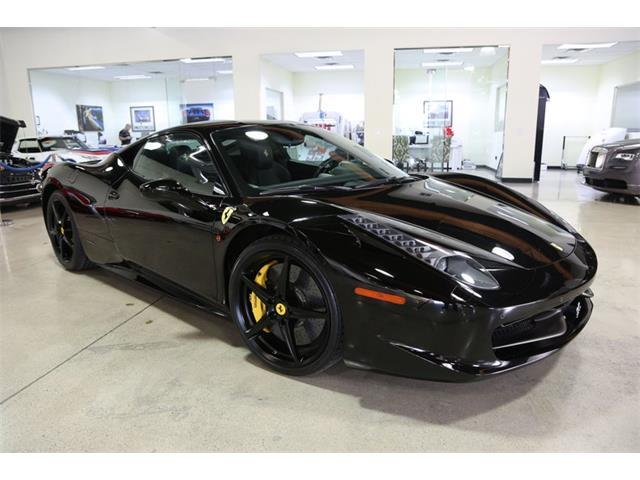 2011 Ferrari 458 (CC-1296067) for sale in Chatsworth, California