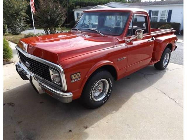 1972 Chevrolet Pickup (CC-1296154) for sale in Cadillac, Michigan