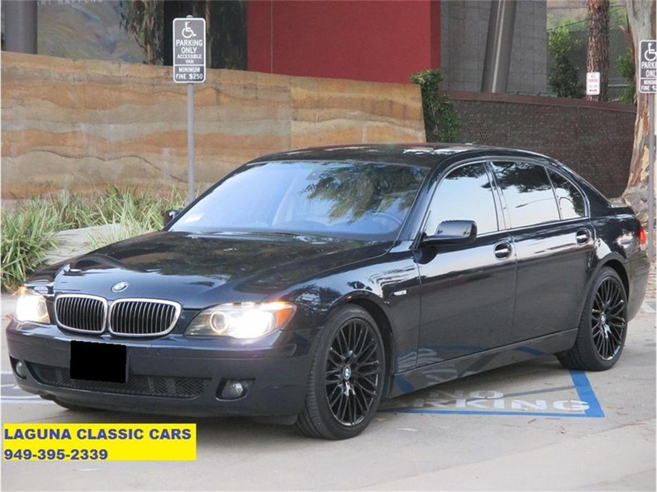 2007 BMW 750li (CC-1296174) for sale in Laguna Beach, California