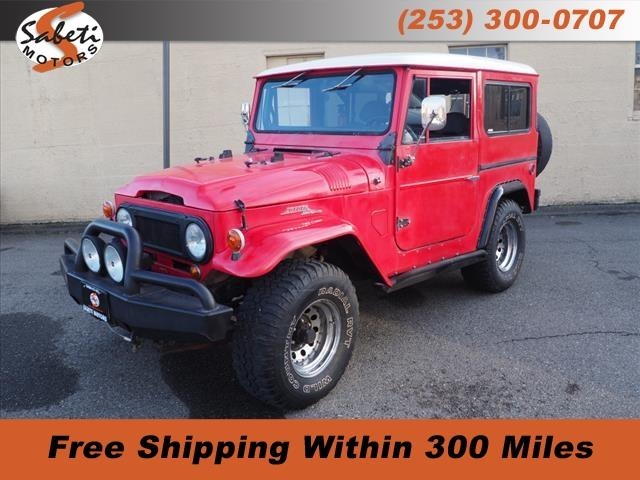 1969 Toyota Land Cruiser FJ (CC-1296190) for sale in Tacoma, Washington
