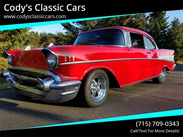 1957 Chevrolet Bel Air (CC-1296314) for sale in Stanley, Wisconsin