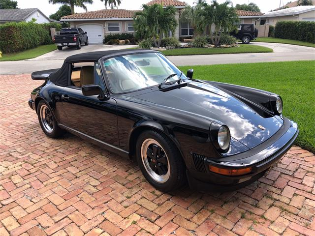 1986 Porsche 911 Carrera Cabriolet (CC-1296495) for sale in Lighthouse Point, Florida
