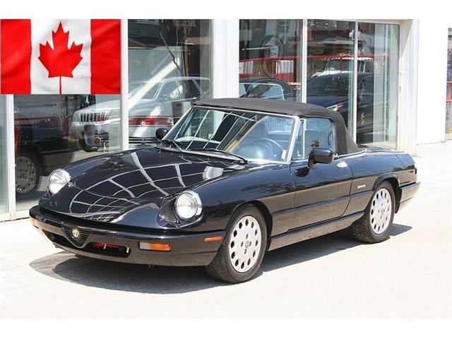 1992 Alfa Romeo Spider Veloce (CC-1296582) for sale in Jackson, Mississippi