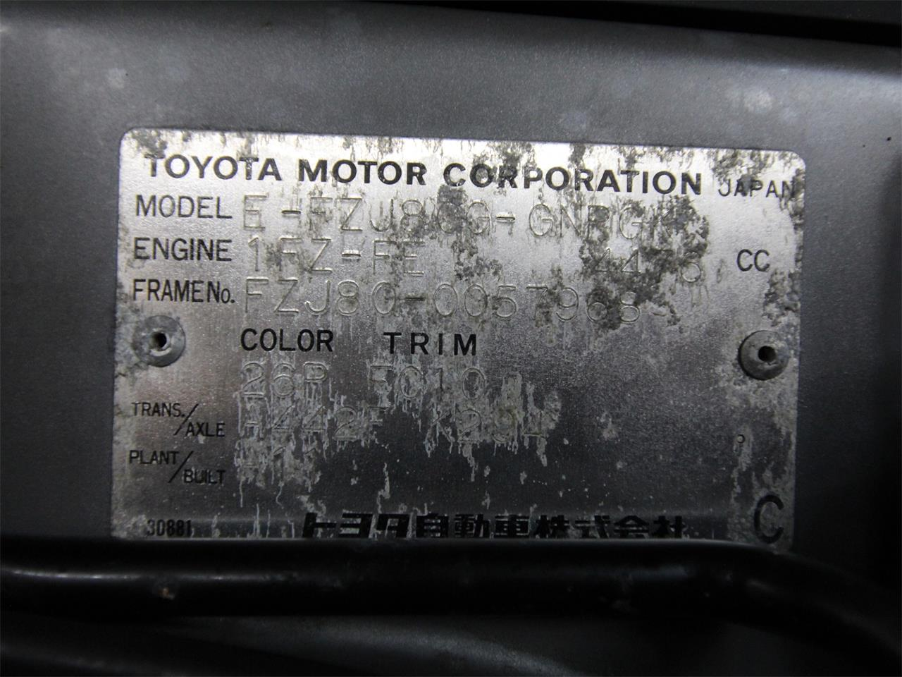 1993 Toyota Land Cruiser FJ (CC-1296671) for sale in Christiansburg, Virginia