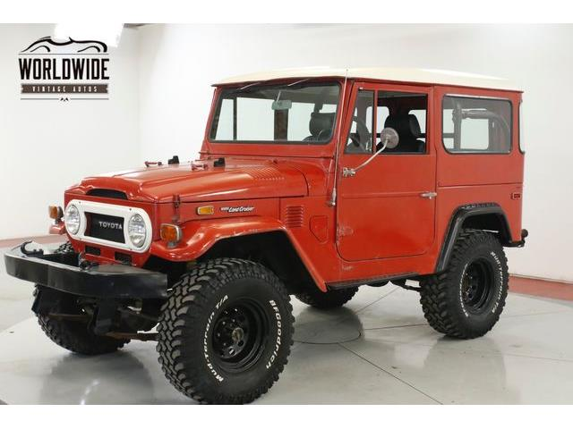 1975 Toyota Land Cruiser FJ40 (CC-1296694) for sale in Denver , Colorado