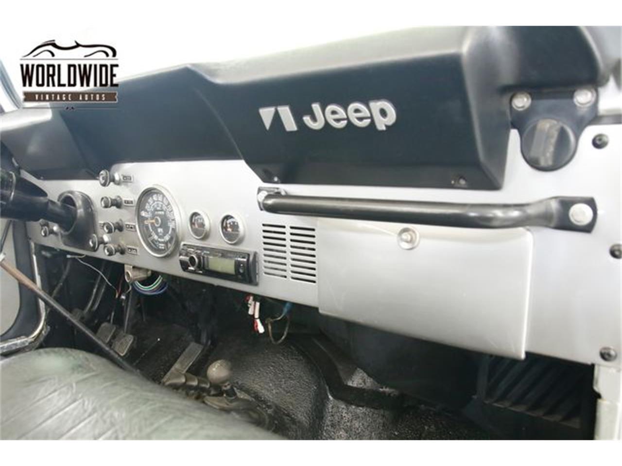 1978 Jeep CJ5 (CC-1296697) for sale in Denver , Colorado