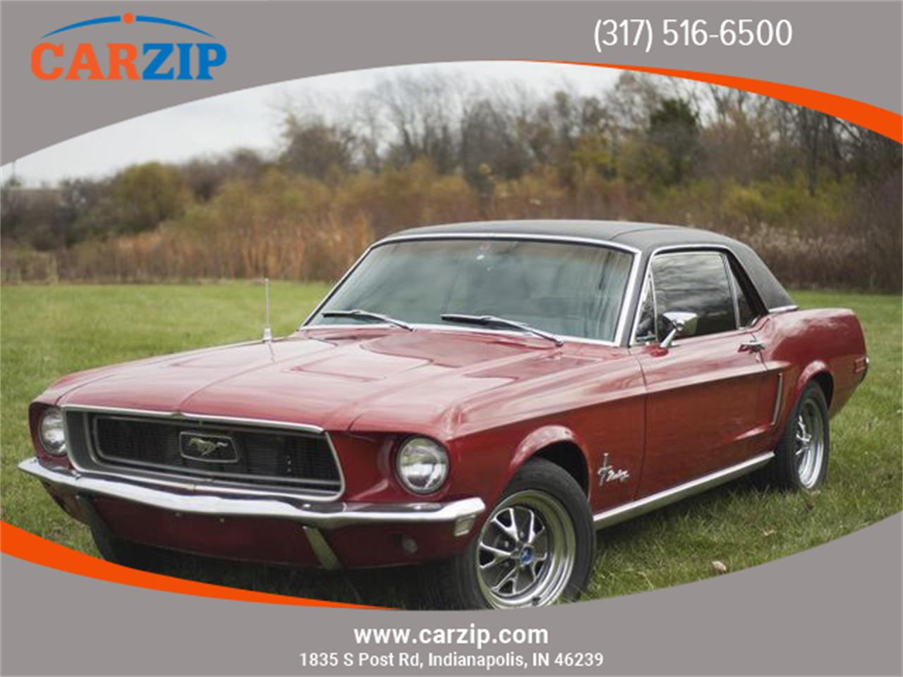 1968 Ford Mustang For Sale Classiccars Com Cc 1296826