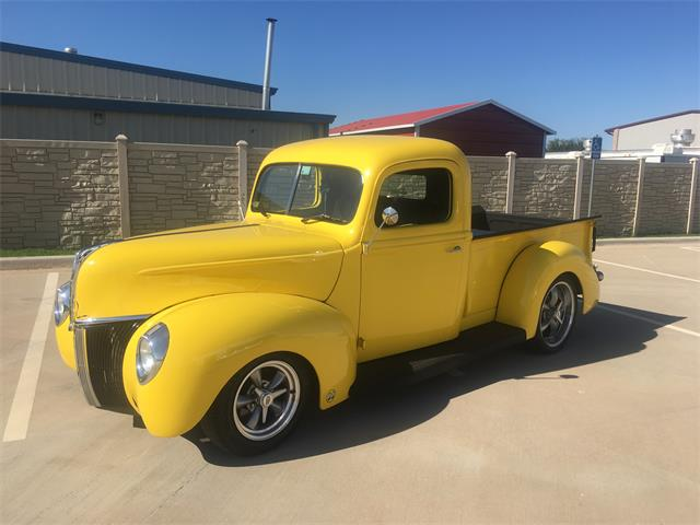 1940 Ford Pickup (CC-1296887) for sale in Yukon, Oklahoma