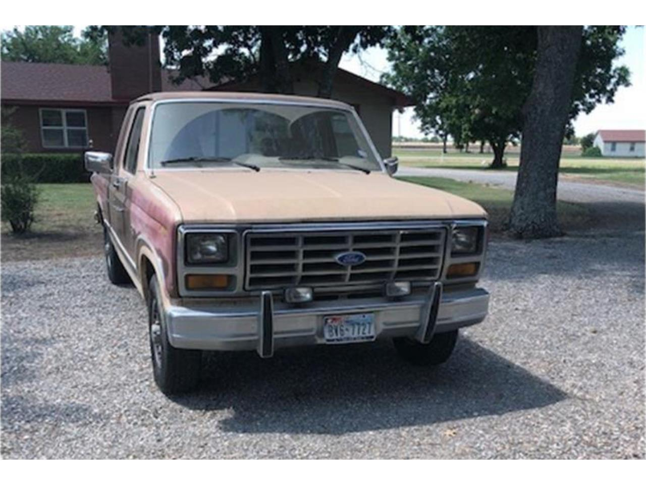 1986 Ford 1/2 Ton Pickup (CC-1296919) for sale in Whitewright, Texas