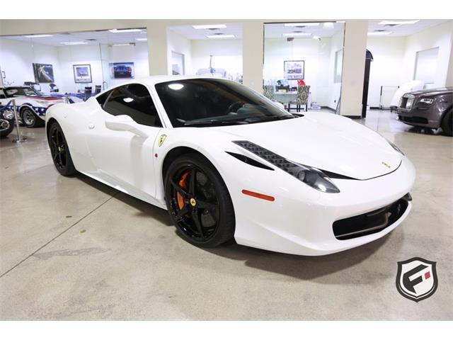 2011 Ferrari 458 (CC-1297026) for sale in Chatsworth, California