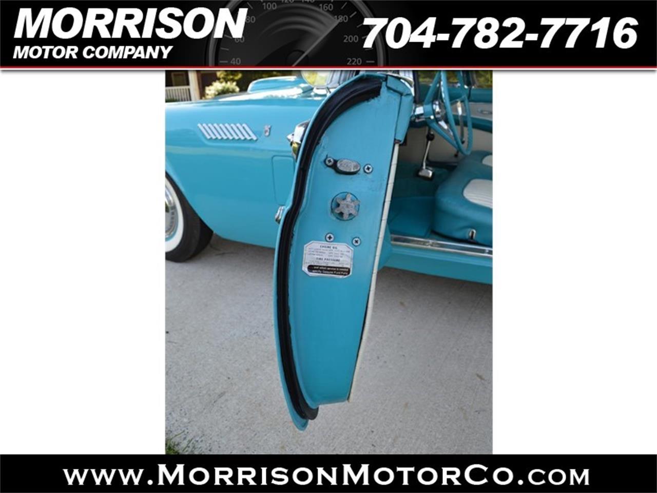 1956 Ford Thunderbird (CC-1297084) for sale in Concord, North Carolina