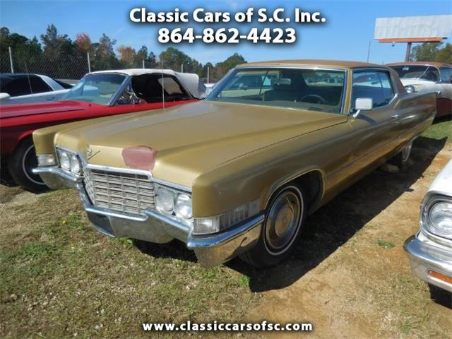 1969 Cadillac Coupe DeVille (CC-1297318) for sale in Gray Court, South Carolina