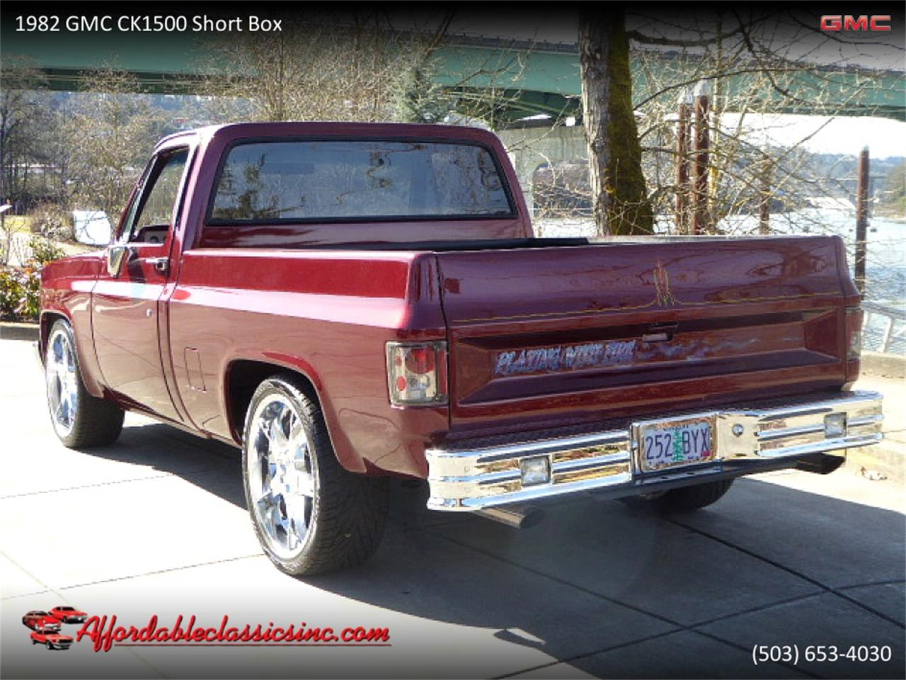 1982 GMC C/K 1500 (CC-1297371) for sale in Gladstone, Oregon