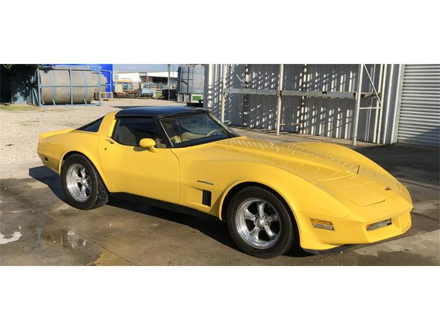 1982 Chevrolet Corvette (CC-1297517) for sale in Dallas, Texas